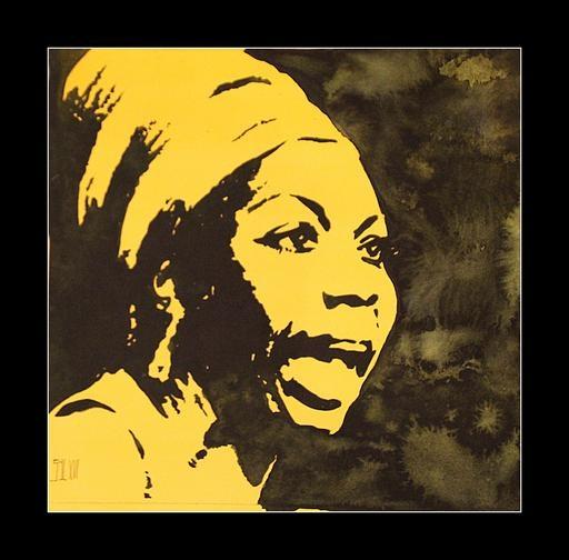 Nina Simone by aquarelle-autrement